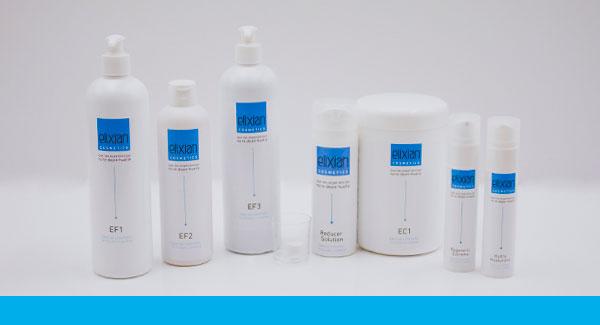 Cosmetología específica en el método Elixian