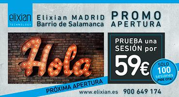 Nueva apertura Elixian en Madrid
