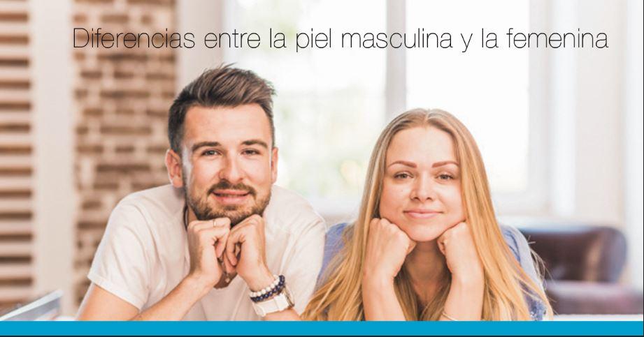 Diferencias entre la piel masculina y la femenina